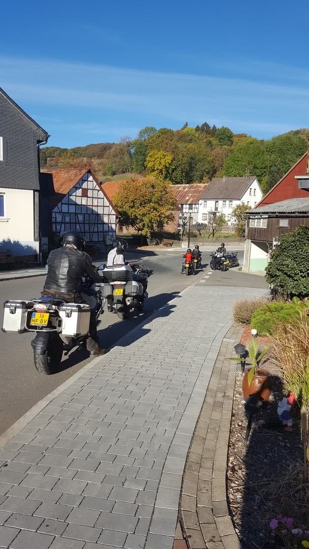 Weekend voor motorrijders